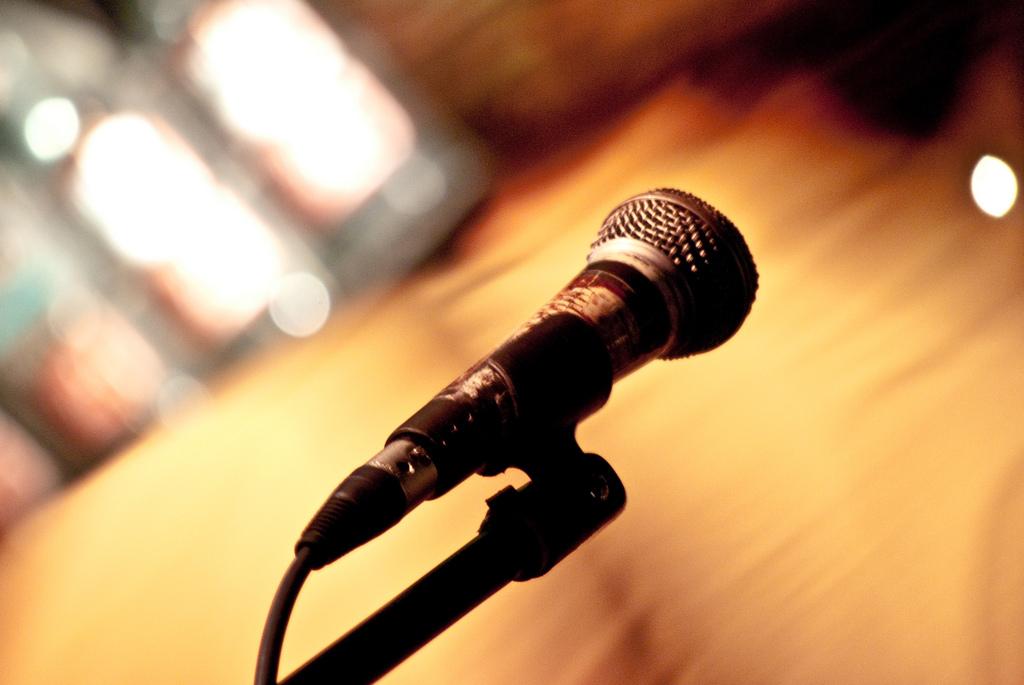 zu sehen ist ein Mikrofon