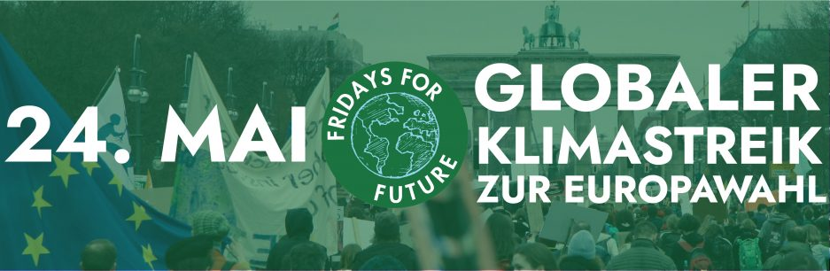 Fridays for Future - Demoaufruf 24. Mai