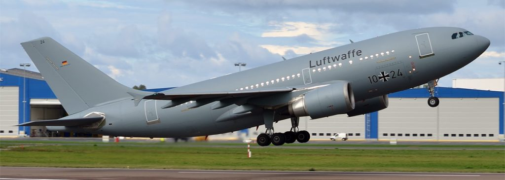 Ein A310-300 der Deutschen Luftwaffe