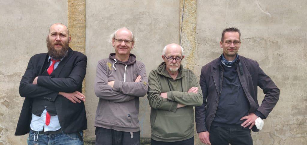 Die vier Stadträte der Fraktion